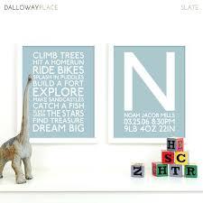 wall art for boy nursery u2013 bearister me