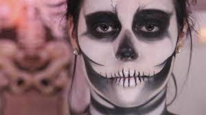 how to do skeleton makeup for halloween video dailymotion