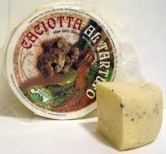 italian truffle cheese caciotta al tartufo cheese italian cheese with black truffle