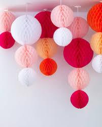 paper hanging globe decorations martha stewart