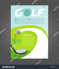 Interdum Magna Augue Eget by Flyer Brochure Golf Cover A4 Size Stock Vector 435953557