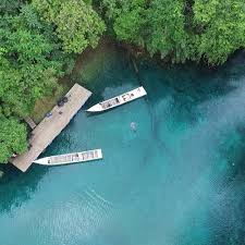 Cermin Rp hopping island diving package derawan island fisheries eco villa