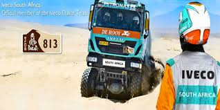 rally truck racing iveco trucks tested by dakar experience 360 video and virtual tour