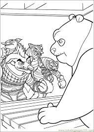 kung fu panda 2 34 coloring free kung fu panda coloring