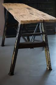 Industrial Work Table by Vintage Industrial French Work Table For Sale At Pamono