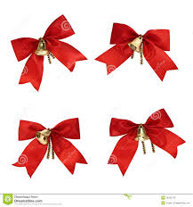 decorations ribbons and bells stock image image