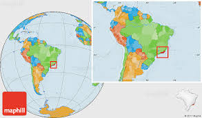 de janeiro on the world map political location map of de janeiro within the entire country