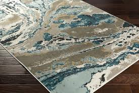 Abstract Area Rugs Blue And Brown Area Rug Gray Rugs Marvelous O Teal White
