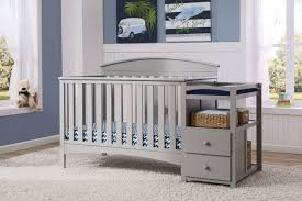 Convertible Cribs With Attached Changing Table Delta Children Ab 4 In 1 Convertible Crib And Changer