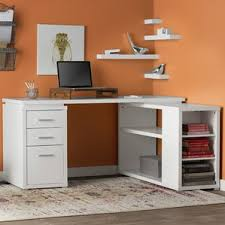 Computer Desk With Filing Cabinet by White Desks You U0027ll Love Wayfair