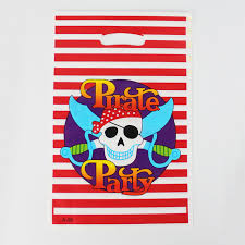 pirate party supplies 12pcs loot bag for kids birthday festival party decoration pirate