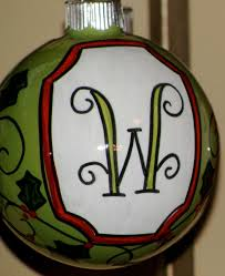christmas ornaments with initials 707 best christmas ornaments images on christmas