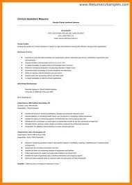 Ats Resume Format Resume Templates For Medical Assistant Medical Assistant