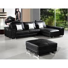 canapé d angle avec méridienne canapé d angle en cuir noir avec méridienne achat vente canapé