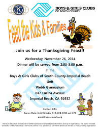 thanksgiving dinner help help feed the kids u0026 families of imperial beach this thanksgiving