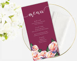 wedding menu event menu menu template function menu