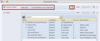 pattern rule directory use of context objects with exle sap integration hub