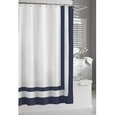 Luxury Shower Curtain White Cotton 100 Cotton Shower Curtains You U0027ll Love Wayfair