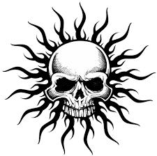 tribal skull 01001 2 png 500 496