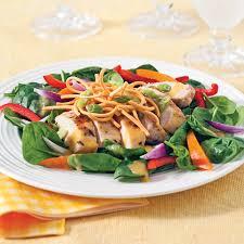 cuisine asiatique poulet salade de poulet express à l asiatique recettes cuisine et
