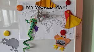 around the world summer camp free worksheets and powerpoints