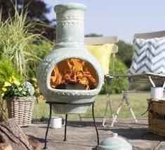 Large Terracotta Chiminea Clay Chimenea Large Clay Chiminea Patio Heater Fire Pit Garden