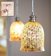 Anthropologie Lighting Fancy Mercury Glass Pendant Lights At Anthropologie In Light