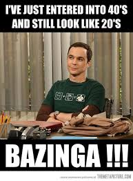Funny 40th Birthday Memes - happy 40th birthday jim parsons the meta picture
