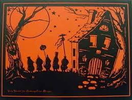 Vintage Halloween Decorations Vintage Halloween 5
