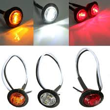 led side marker lights 12v amber red white led side marker light turn signal indicator l