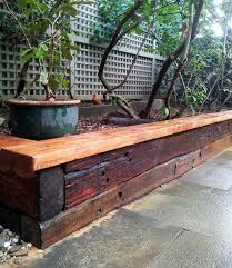 Railway Sleepers Garden Ideas Small Garden Ideas With Railway Sleepers Garden Design