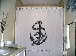 Nautical Anchor Shower Curtain Nautical Anchor Shower Curtains Images Best Curtains Design 2016