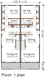 multi family home plans multi family plan 72786 at familyhomeplans com