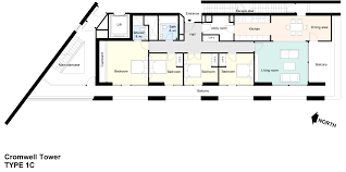 Flat Plan by Lauderdale Tower Flat Plans Barbican Living