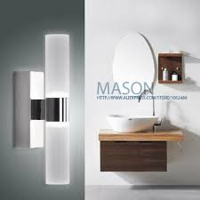 Modern Bathroom Wall Sconce Alluring Modern Bathroom Sconce With Bathroom Wall Sconces