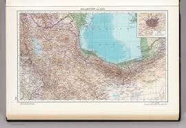 Tehran Map 145 Iran North West And North Tehran The World Atlas David