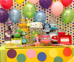 inside out party inside out birthday party ideas birthday party ideas and birthdays