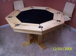 wormy maple octogon poker table by woodhoppa lumberjocks com