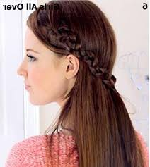 hairstyle in girls stunning and beautiful eid hair styles for