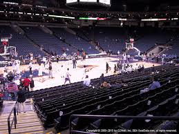 oracle arena section 117 seat views seatgeek