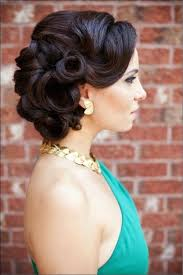 pin up hairstyles for black women with long hair 16 glamorous bridesmaid hairstyles for long hair pretty designs