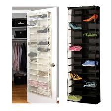Shoe Rack For Closet Door Brand New Design Practical 26 Pocket Shoe Rack Storage Organizer