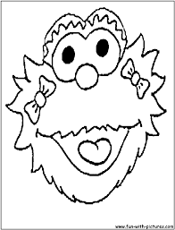 sesame street coloring pages free printable colouring pages