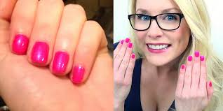 how to shellac nails manicure at home youtube