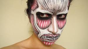 attack on titan makeup by kisamake on deviantart