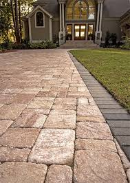 Patio Pavers Orlando by The Beautiful Antiqued Finish Of Roma Sand Dune Pavers From
