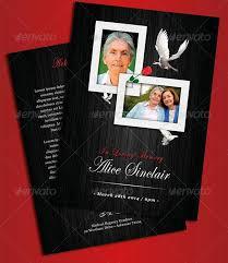 modern funeral programs 2014 free premium brochure templates 56pixels