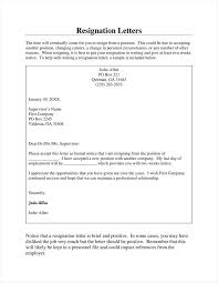 29 simple resign letter templates free word pdf excel format