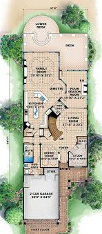 lake home plans narrow lot narrow lot home plans at family home plans house plans