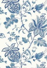 hourglass trellis wallpaper in blue and white design by york